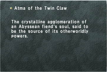 Atma of the Twin Claw
