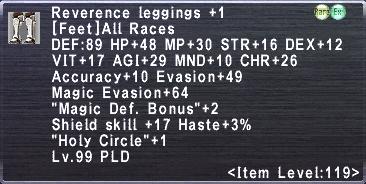 Reverence Leggings +1