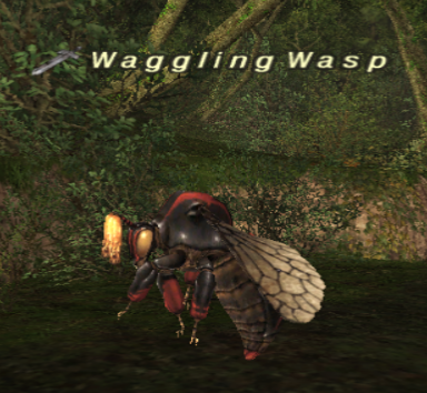 Waggling Wasp