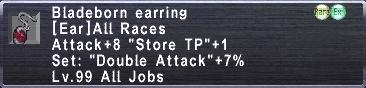 Bladeborn Earring