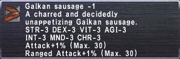 Galkan Sausage -1