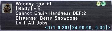 Woodsy Top +1