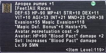 Apogee Pumps +1