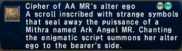 Cipher: Ark MR