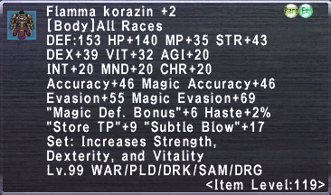 Flamma Korazin +2