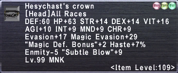 Hesychast's Crown