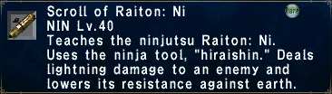 Raiton: Ni