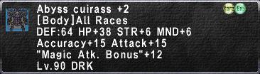 Abyss Cuirass +2