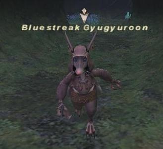 Bluestreak Gyugyuroon