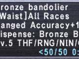 Bronze Bandolier