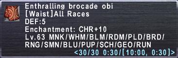 Enthralling Brocade Obi