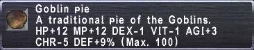 Goblin Pie