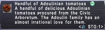 Adoulinian Tomatoes