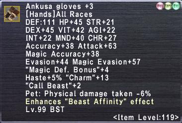 Ankusa Gloves +3