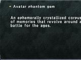 Avatar Phantom Gem