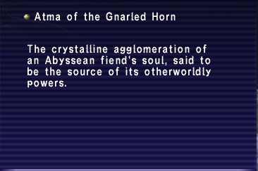 Atma of the Gnarled Horn
