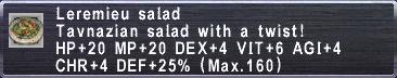 Leremieu Salad