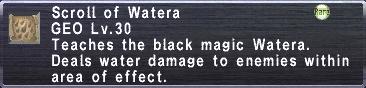 Scroll of Watera