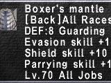 Boxer's Mantle
