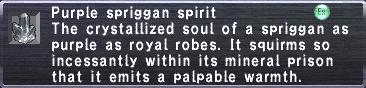 Purple Spriggan Spirit