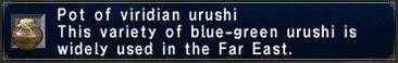 Viridian Urushi