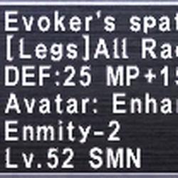 Evoker's Spats