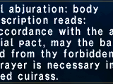 Martial Abjuration: Body