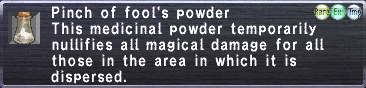 Fool's Powder