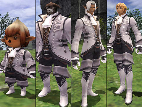 2008 - (12/16/2008) New Wedding Formalwear for Male Characters!
