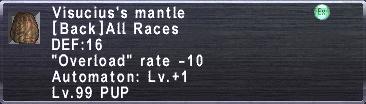 Visucius's Mantle