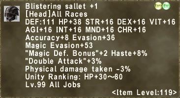 Blistering Sallet +1