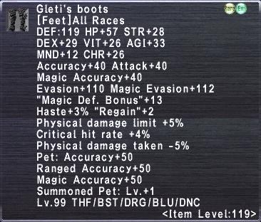 Gleti's Boots