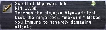 Migawari: Ichi