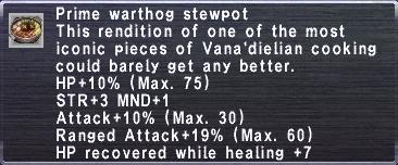 Prime Warthog Stewpot