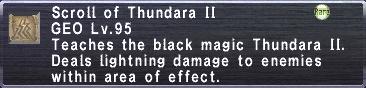 Scroll of Thundara II