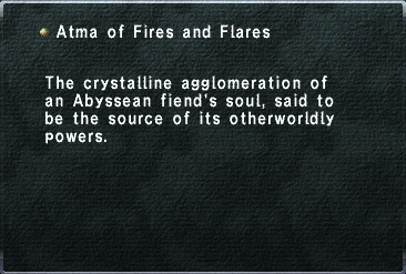 Atma of Fires and Flares