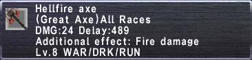 Hellfire Axe