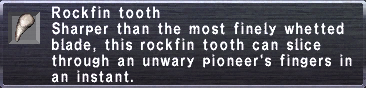 Rockfin Tooth