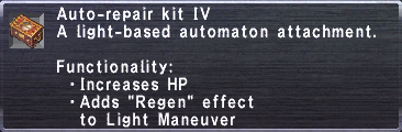 Auto-Repair Kit IV