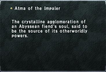 Atma of the Impaler