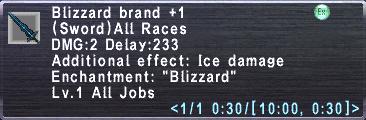 Blizzard Brand +1