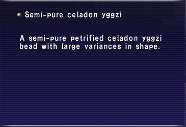 Semi-pure celadon yggzi