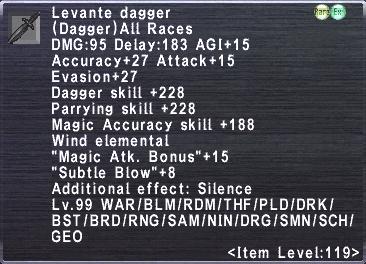 Levante Dagger
