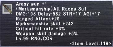 Arasy Gun +1