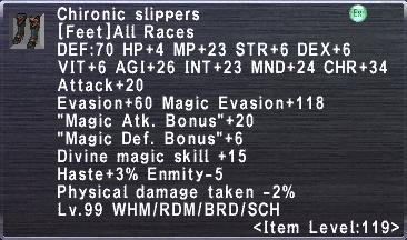 Chironic Slippers