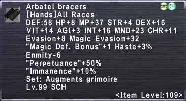 Arbatel Bracers