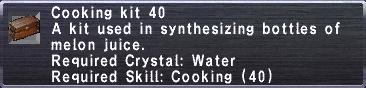 Cooking Kit 40