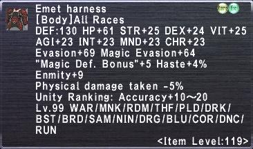 Emet Harness