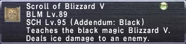 Blizzard V