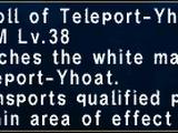Teleport-Yhoat